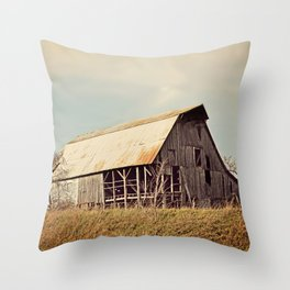 abandoned history . Throw Pillow