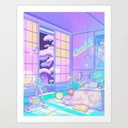 Dream Attack Art Print