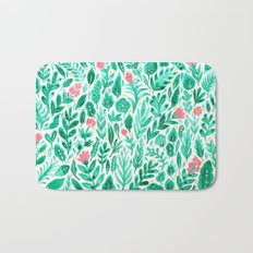 June Blooms Bath Mat
