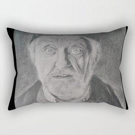 Wilfred Mott, Donna Noble's grandad from Doctor Who Rectangular Pillow