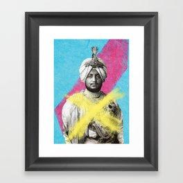 The Three Maharajah's part 3 Framed Art Print