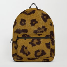 Cheetah fur pattern Backpack