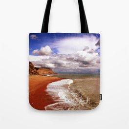 Golden Shore Tote Bag