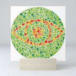 Colour Blindness Eye Mini Art Print