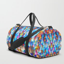 Colorful digital art splashing G397 Duffle Bag