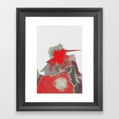 Gun Turret Framed Art Print