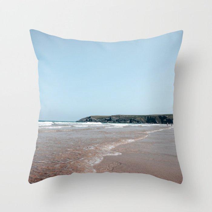 holywell bay Throw Pillow