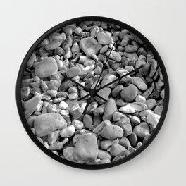 Wisdom of Rocks 1 Wall Clock