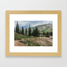 Wasatch Mountains, Utah Framed Art Print