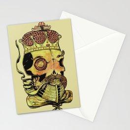 Caveira Rei dos Mares Stationery Cards