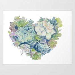 Love Succs Art Print