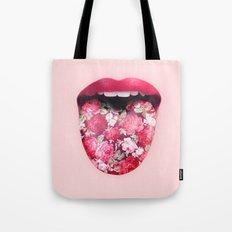 FLORAL KISS Tote Bag