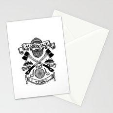 LUMBERJACK Stationery Cards