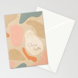 Matisse Pebbles - Stronger together Stationery Cards