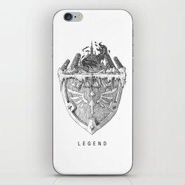 Legend iPhone Skin