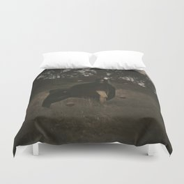 the mages apprentice II Duvet Cover