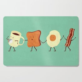 Let's All Go And Have Breakfast Cutting Board