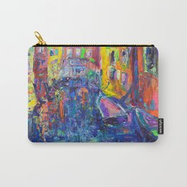 City of Canals - Modern Urban Cityscape of Venice by Adriana Dziuba Carry-All Pouch