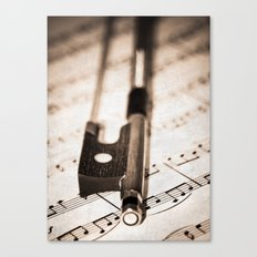 Violin Bow Canvas Print