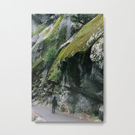 Stacked moss Metal Print