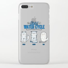 The States of the Water Cycle Clear iPhone Case