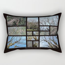 Cherry Don't You Weep No More (Collage) Rectangular Pillow