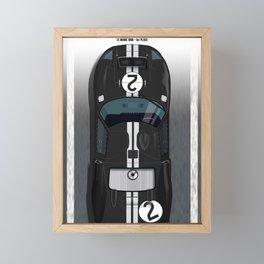Le Mans Winner 1966, GT40 Framed Mini Art Print