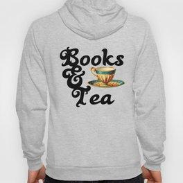 Books and Tea Hoody