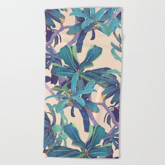 Lost In The Jungle Beach Towel