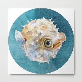 balloonfish Metal Print