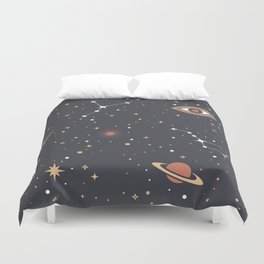 Mystical Galaxy Duvet Cover