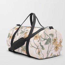 Winding flowers Duffle Bag