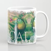 tropical Mugs featuring Tropical by Ben Geiger