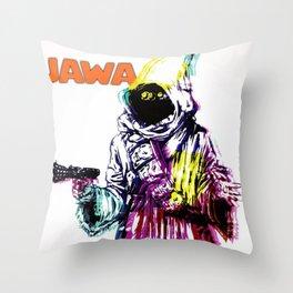 Jawa Throw Pillow
