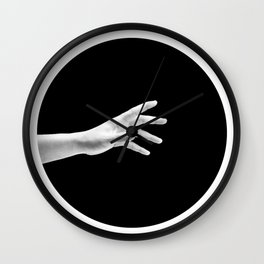 Escaping Darkness Wall Clock