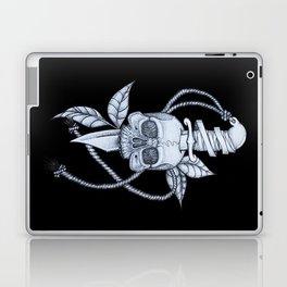 Headache (black background) Laptop & iPad Skin