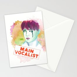 Main Vocalist Stationery Cards
