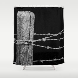 Fence Shower Curtain