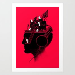Everyday is a New Soundtrack Art Print