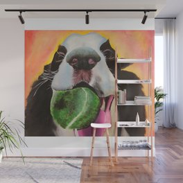 Happy Dog Wall Mural