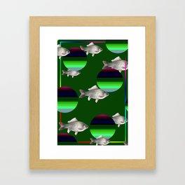fish miracle Framed Art Print