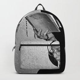 Midle Finger  Backpack