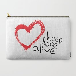 keep hope alive Carry-All Pouch