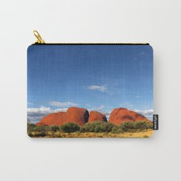 A landscape shot of Kata Tjuṯa / Mount Olga at Uluru in the outback of Australia Carry-All Pouch