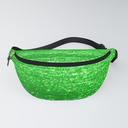 Sparkling Green Water Fanny Pack