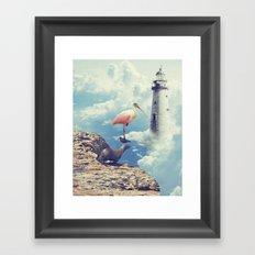 Equilibrio Framed Art Print