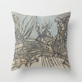 The Ice Fishers and Their Secret Throw Pillow
