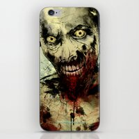 dead iPhone & iPod Skins featuring UNDEAD by Fresh Doodle - JP Valderrama