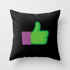 I Like Donatello Throw Pillow
