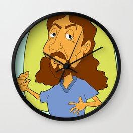 Modern Jesus Wall Clock